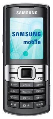 Мобильный телефон Samsung C3011 Black (GT-C3011 MKASER) - вид спереди
