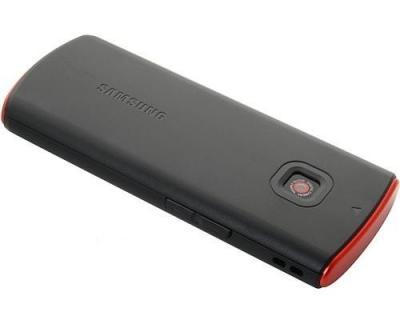 Мобильный телефон Samsung C3011 Black with Red (GT-C3011 PRASER) - задняя панель