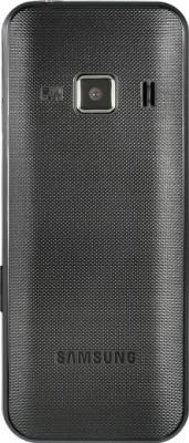 Мобильный телефон Samsung C3322i Dual (черный) - вид сзади