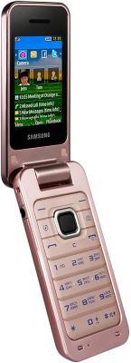 Мобильный телефон Samsung C3560 Pink - общий вид