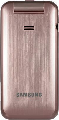 Мобильный телефон Samsung C3560 Pink - вид сзади