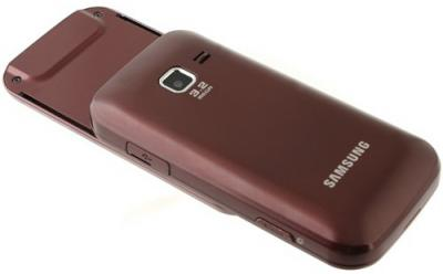 Мобильный телефон Samsung C3752 Red (GT-C3752 WRASER) - общий вид