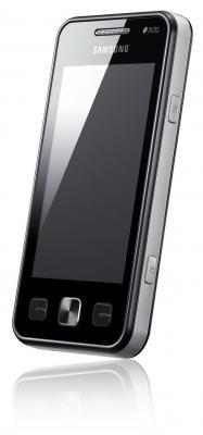 Мобильный телефон Samsung C6712 Star II Duos Black (GT-C6712 LKASER) - вид сбоку