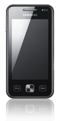Мобильный телефон Samsung C6712 Star II Duos Black (GT-C6712 LKASER) - вид спереди