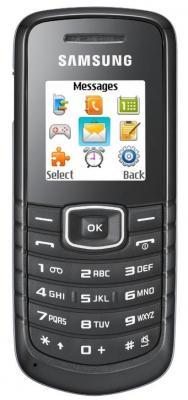 Мобильный телефон Samsung E1081 Black (GT-E1081 ZKTSER) - общий вид