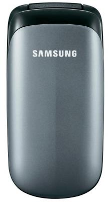 Мобильный телефон Samsung E1150 Silver (GT-E1150 TSISER) - в сложенном виде