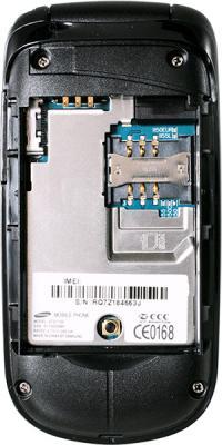 Мобильный телефон Samsung E1150 Silver (GT-E1150 TSISER) - внутренний вид