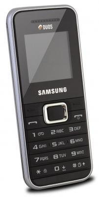 Мобильный телефон Samsung E1182 Silver (GT-E1182 ZSASER) - общий вид