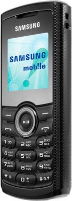 Мобильный телефон Samsung E2121 Black (GT-E2121 ZKBSER) - вид сбоку