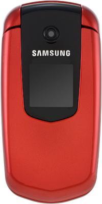 Мобильный телефон Samsung E2210 Red (GT-E2210 WRASER) - вид спереди