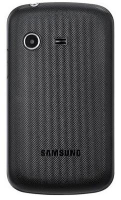 Мобильный телефон Samsung E2222 Black (GT-E2222 LKASER) - вид сзади