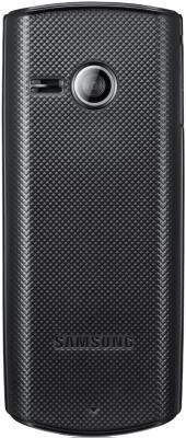 Мобильный телефон Samsung E2232 Black (GT-E2232 ZKASER) - вид сзади