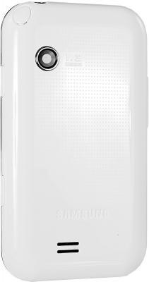 Мобильный телефон Samsung E2652 Champ White - вид сзади