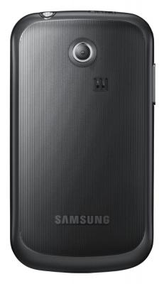 Мобильный телефон Samsung S3350 Black (GT-S3350 HKASER) - вид сзади