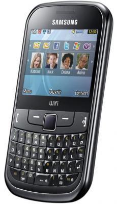 Мобильный телефон Samsung S3350 Black (GT-S3350 HKASER) - общий вид