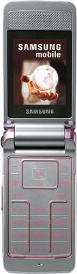 Мобильный телефон Samsung S3600 Pink with Pattern (GT-S3600 TIISER) - в открытом виде