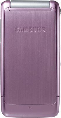 Мобильный телефон Samsung S3600 Pink with Pattern (GT-S3600 TIISER) - вид сзади