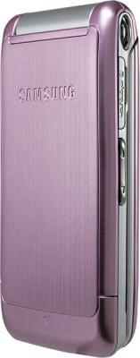 Мобильный телефон Samsung S3600 Pink with Pattern (GT-S3600 TIISER) - вид сбоку