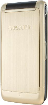 Мобильный телефон Samsung S3600 Gold (GT-S3600 XDISER) - вид сзади