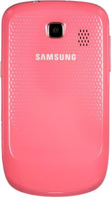 Мобильный телефон Samsung S3850 Corby II Pink - вид сзади