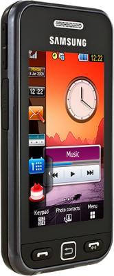 Мобильный телефон Samsung S5230 Star Black (GT-S5230 LKMSER) - вид сбоку