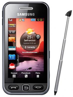 Мобильный телефон Samsung S5230 Star Black (GT-S5230 LKMSER) - общий вид