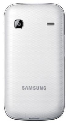 Смартфон Samsung S5660 Galaxy Gio White (GT-S5660 SWASER) - вид сзади