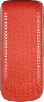 Мобильный телефон LG A100 Red - вид сзади