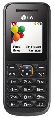 Мобильный телефон LG A100 Gray - вид спереди
