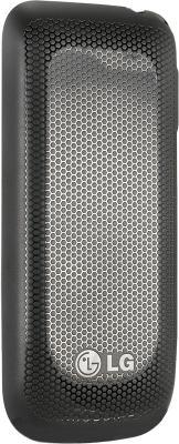 Мобильный телефон LG A190 Black - вид сзади