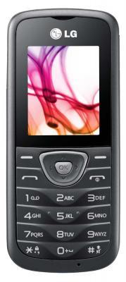 Мобильный телефон LG A230 Gray - вид спереди