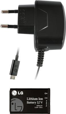 Мобильный телефон LG A230 Gray - зарядное, аккумулятор