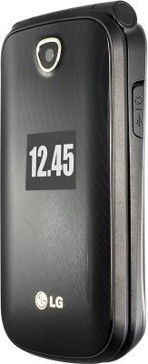 Мобильный телефон LG A258 Titan - вид сбоку