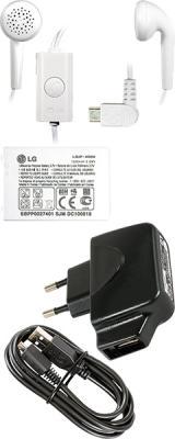 Мобильный телефон LG GX500 White - аксессуары