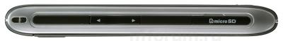 Мобильный телефон LG GX500 Black - вид сбоку