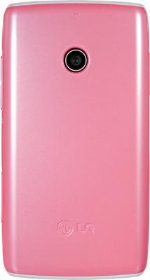 Мобильный телефон LG T300 Pink - вид сзади