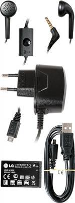 Мобильный телефон LG T300 Black - аксессуары