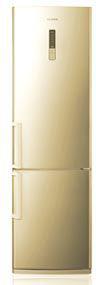 Холодильник с морозильником Samsung RL-46 RECVB - Вид спереди