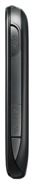 Мобильный телефон LG T510 Black - вид сбоку