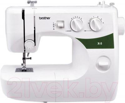Швейная машина Brother X-3 - общий вид
