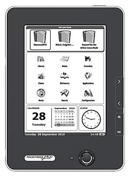 Электронная книга PocketBook Pro 602 - вид спереди
