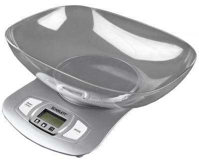 Кухонные весы Scarlett SC-1211 (Silver) - вид сверху