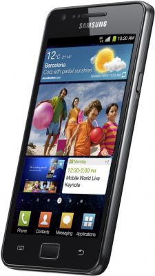 Смартфон Samsung I9100 Galaxy S II Black (GT-I9100 LKASER) - общий вид