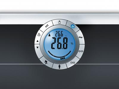 Напольные весы электронные Beurer BF 66 - дисплей