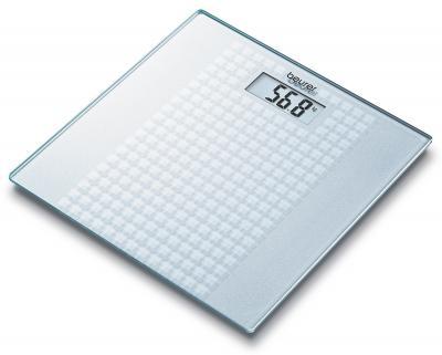 Напольные весы электронные Beurer GS 28 Frosted Squares - вид сверху