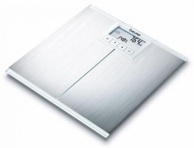 Напольные весы электронные Beurer BG 42 (белый) - вид сбоку
