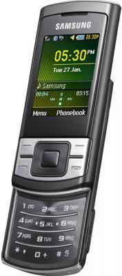 Мобильный телефон Samsung C3050 Black - общий вид