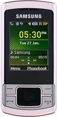 Мобильный телефон Samsung C3050 Pink - общий вид