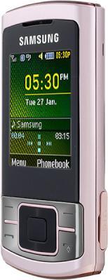 Мобильный телефон Samsung C3050 Pink - вид сбоку