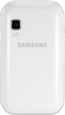 Мобильный телефон Samsung C3300 White (GT-C3300 CWISER) - задняя панель